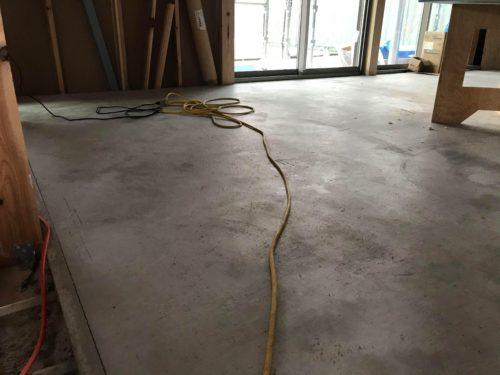 蓄熱の為のコンクリート